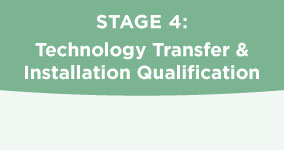 Technology Transfer and Installation Qualification